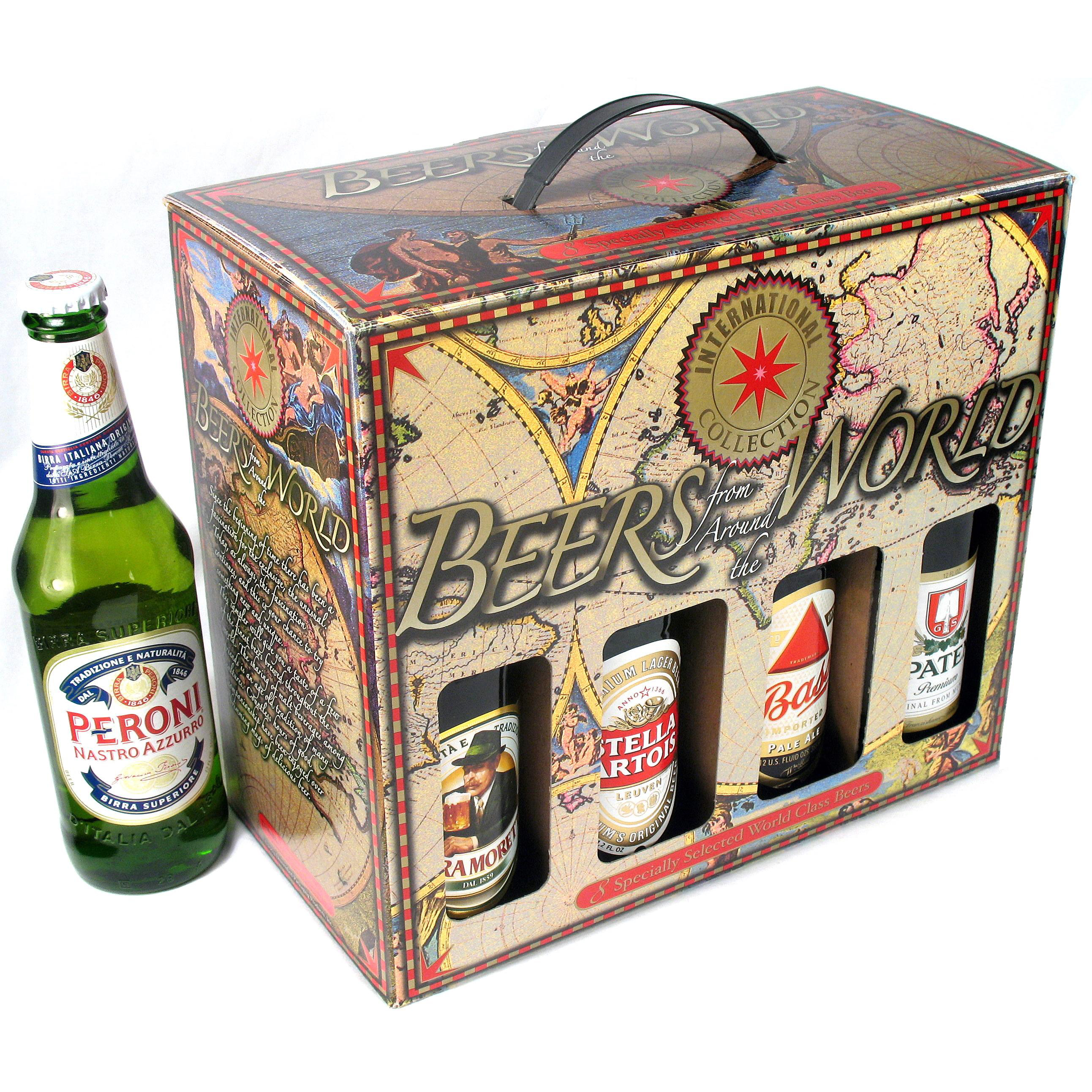 Craft beer gift box - 8 Bottle Beers Of The World Gift Box