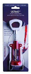 Ultimo Wing Corkscrew (Carded)
