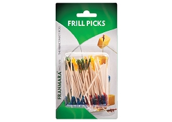 Frill Picks- 50- (Carded)
