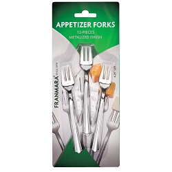 Appetizer Forks, 12 count