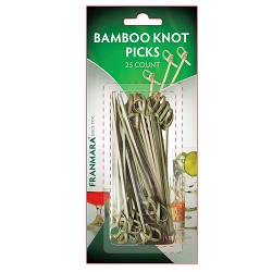 Bamboo Knot Pick (25 Count)