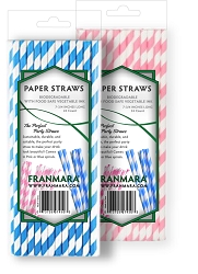 Paper Straws, 24 Count