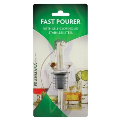 Fast Pourer with Self-Closing Lid