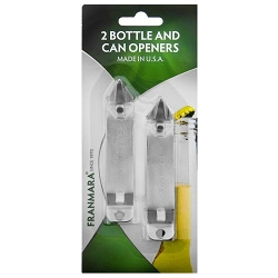 Bottle/Can Opener,  2 Carded Church Keys