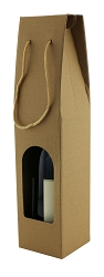 Wine Gift Box, 1 Bottle with Window