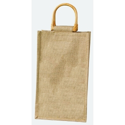 Double Bottle Jute Vino Sack