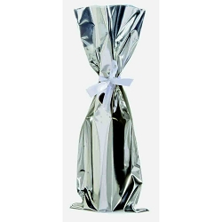 Mylar™ Gift Bags-Silver