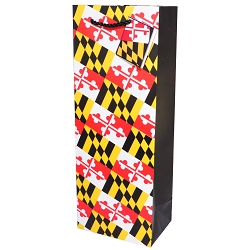 Maryland Flag Wine Bag