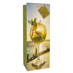 Mojito Sunset Bottle Gift Bag