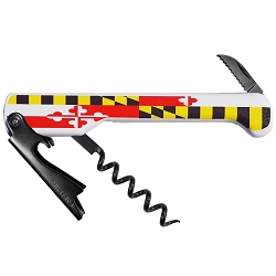 Maryland Flag Capitano Corkscrew (Carded)