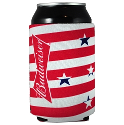 Budweiser Stars and Stripes Can Kaddie