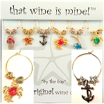 Wine Glass Charms (By the Bay Collection)