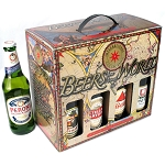 Beers Of the World--   8 Bottle Beer Gift Box