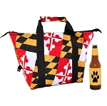 Maryland Flag Insulated Tote Bag