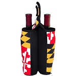 Maryland Flag Two Bottle Wine Tote