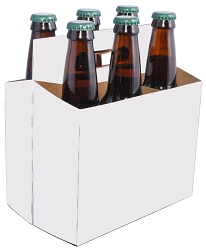 6 Bottle Beer Carriers (12 oz.), 160 per Case