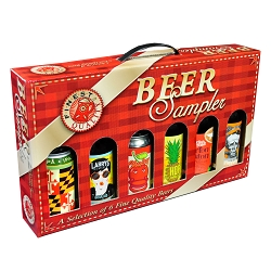 6 Bottle Beer Sampler Gift Box