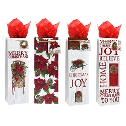 Poinsettias Gift Bags