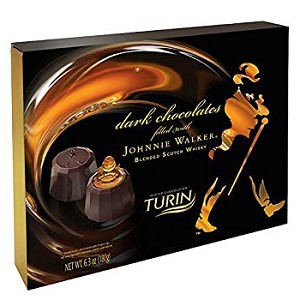Johnnie Walker 6.3 oz. Truffle Gift Box, Case of 6,  (16 pieces ea.)