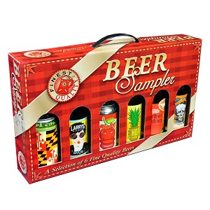 6 Bottle Beer Sampler Gift Box formerly P5630