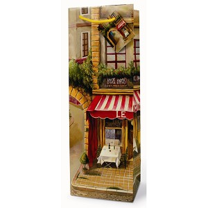 french bistro wine gift bags sturdy wholesale wine gift bags